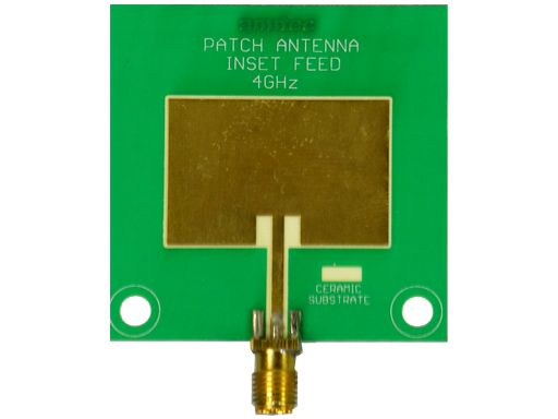 Amitec Microstrip Patch antenna Inset fed