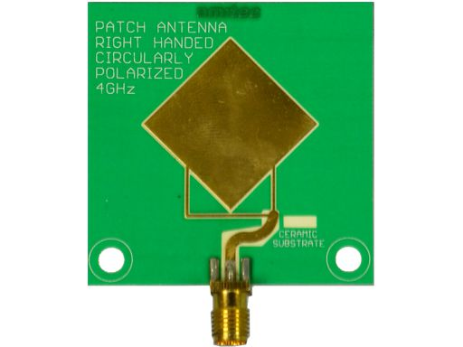 Amitec Right hand circularly polarised(RHCP) patch antenna